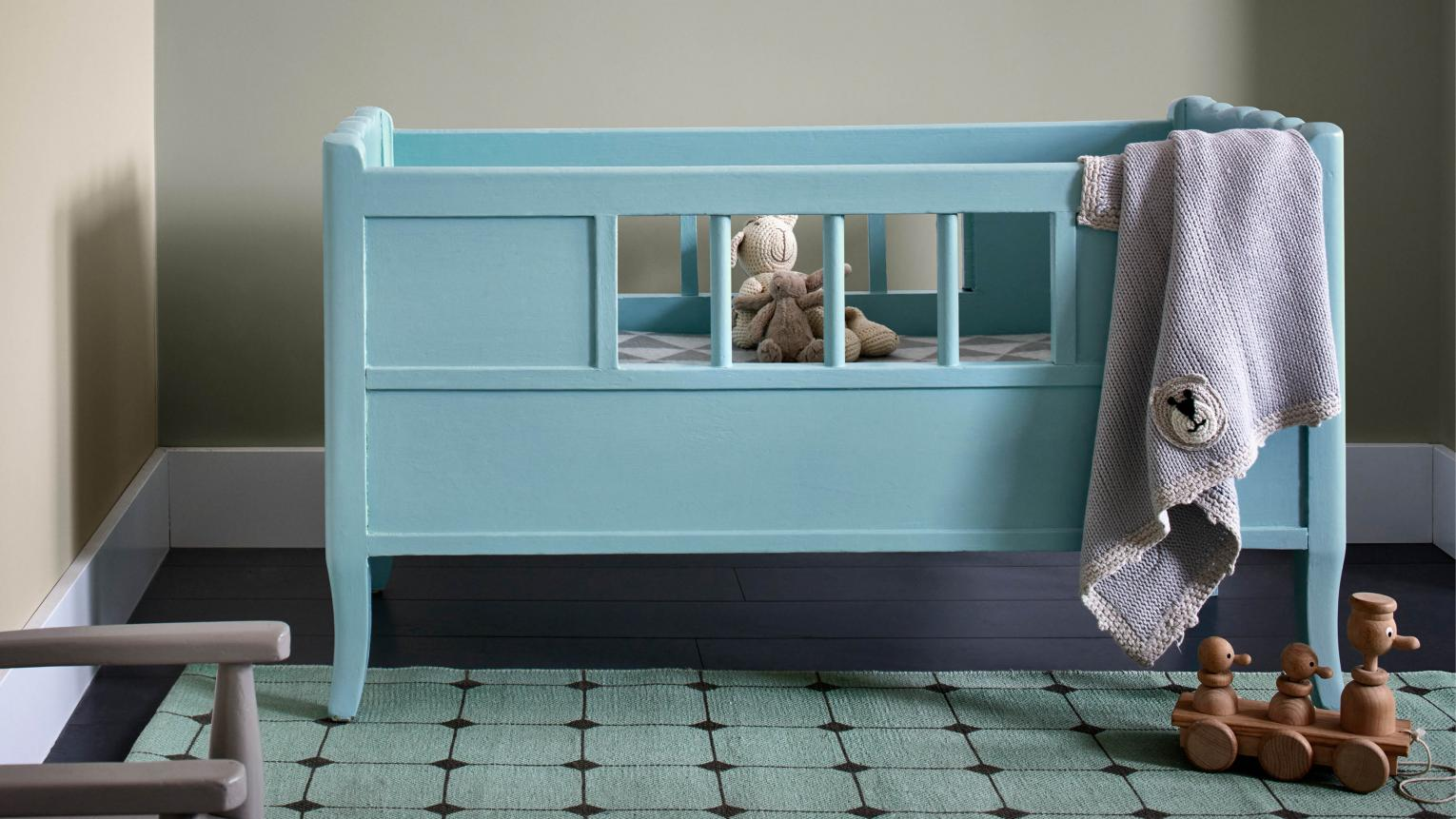Kids grow up fast. One minute you're painting their nursery in baby blue, the next they're an inquisitive toddler with decorating ideas all of their own.