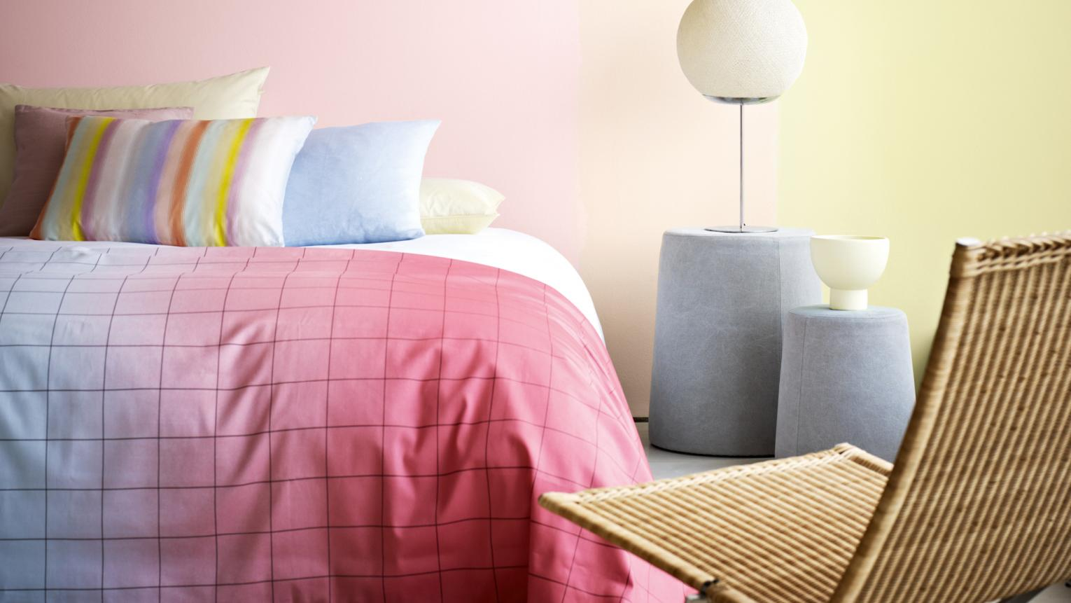 Colour can offer up a quick cure for tired minds, and help you wake up feeling revived and ready to face the new day.